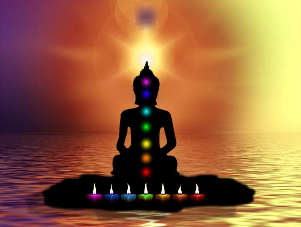 Tantrická masáž, informace o sedmi čakrách